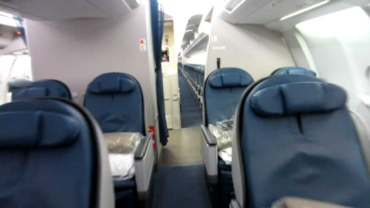 Transat De Salon Delta Airbus 330-300 Cabin Tour - Youtube