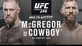 ????Conor McGregor vs Donald Cerrone Breakdown‼️Is 170 a good Weight For McGregor