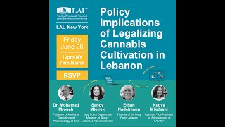 Policy Implications of Legalizing Cannabis Cultivation in Lebanon