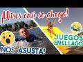 Se estaba  AHOGANDO en VIVO! | Juegos de DIFICULTADES en el LAGO!