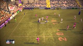 rugby league live 2 gameplay Leeds rhinos vs Saint Helens