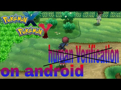 How To Download Pokemon X And Y On Android Without Human Verification