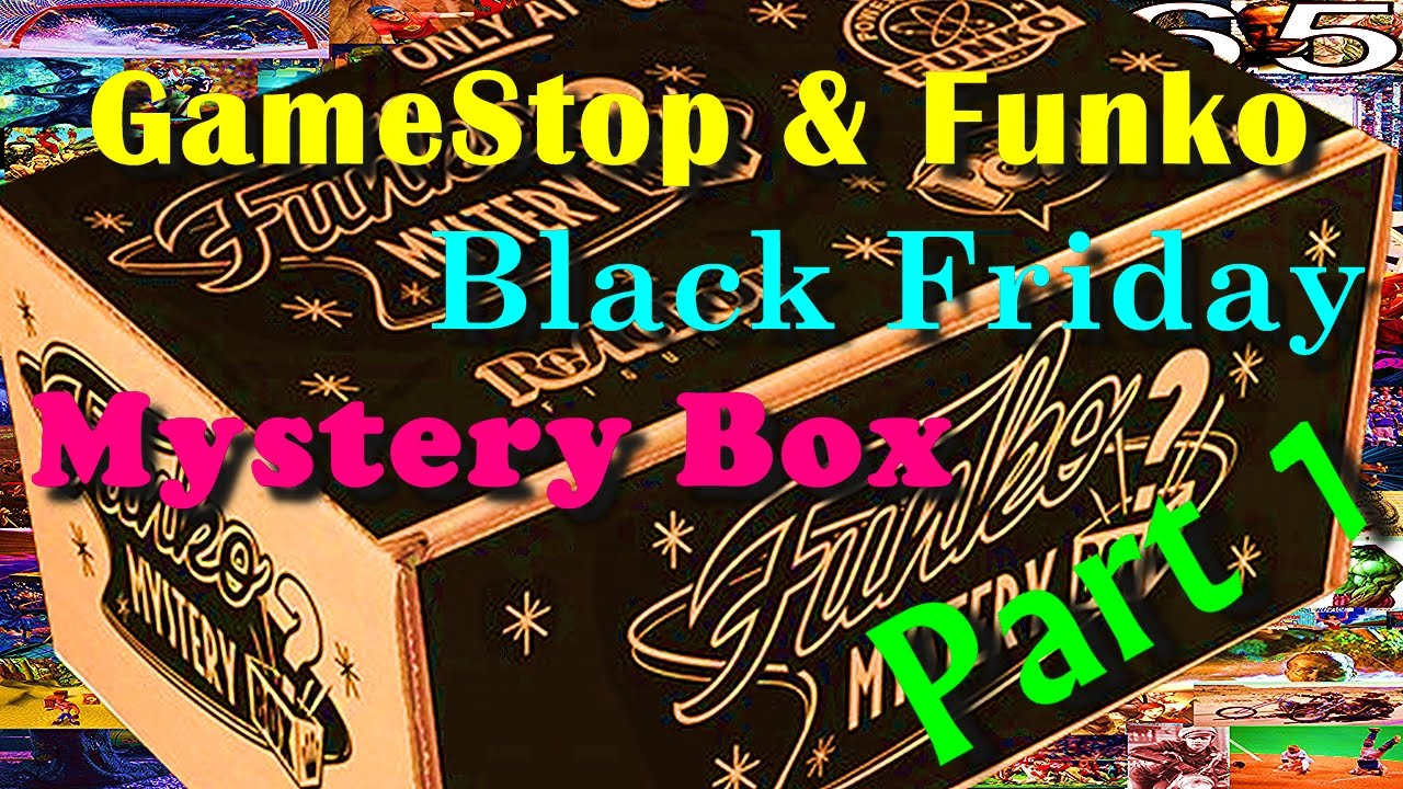 Gamestop Funko Black Friday Mystery Box Unboxing Part