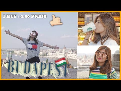 CHEAPEST city in EUROPE to travel to: BUDAPEST! | Anushae Says