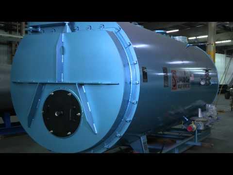 Apache - Industrial Boilers- Scotch Marine Firetube Boilers - 2-Pass ...