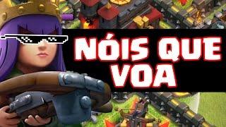 Clash of Clans - Rainha Arqueira Nóis que Voa