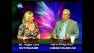 Dr. Foojan Zeine with Hassan Khayatbashi