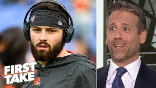 'Baker Mayfield is a gangster!' - Max Kellerman likes the Browns QBs' attitude | First Take