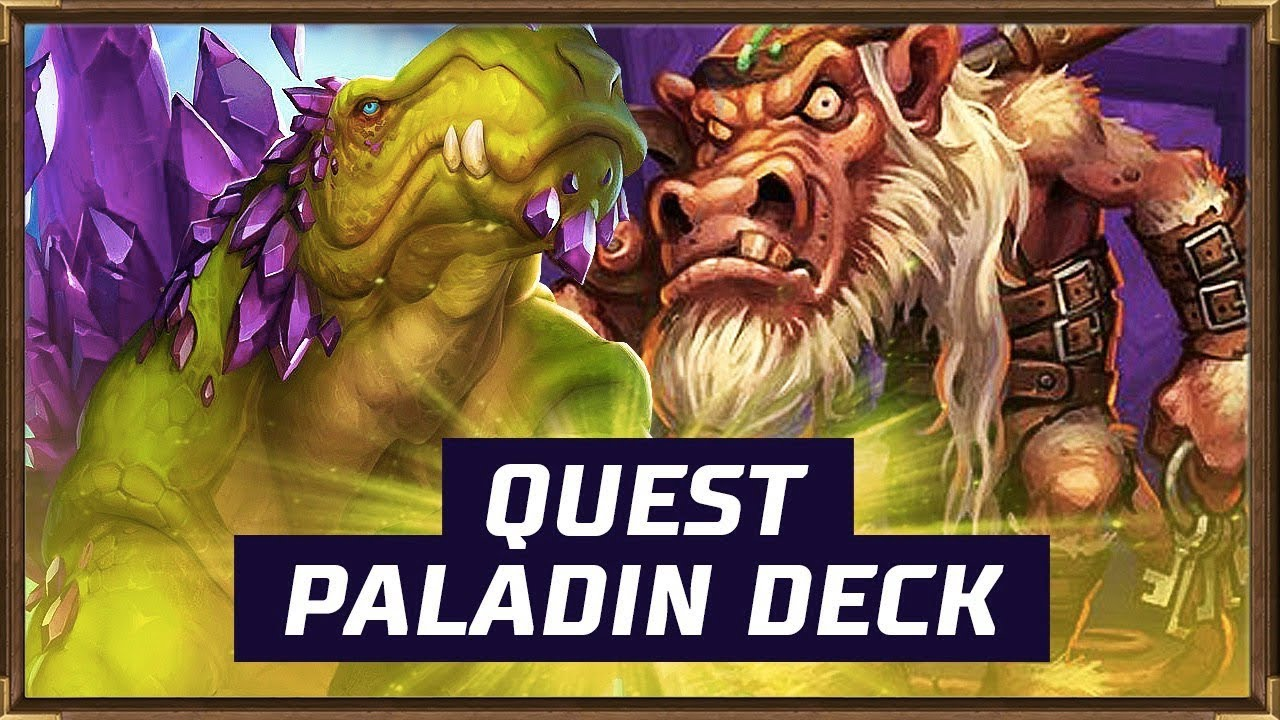 quest paladin deck the witchwood hearthstone