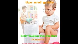 ebook potty training boys