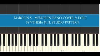 Maroon 5 memories piano cover & lyric ...