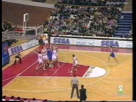 Real Madrid vs Yugoslavia Torneo de Navidad 1994