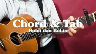 Kunci Gitar (Chord) Bumi dan Bulan - HIVI! (Tab)
