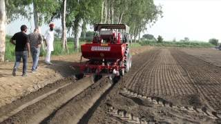 Grimme Planter in Punjab India