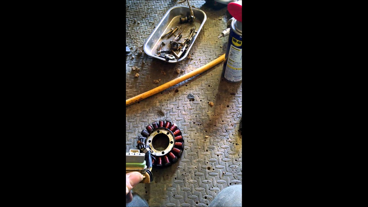Polaris 800 stator replacement part 1