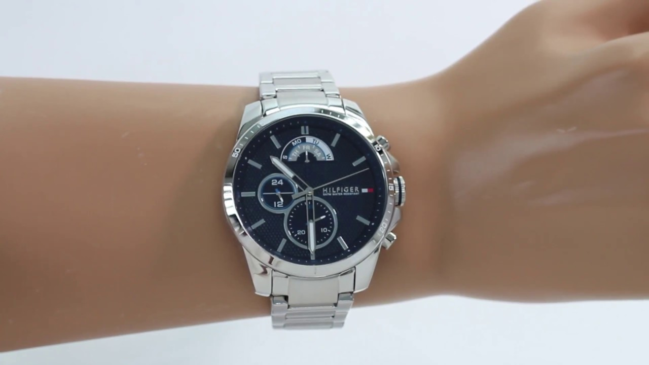 35a904c4 Hands on with the Tommy Hilfiger Men's Decker Sports Watch (1791348 ...
