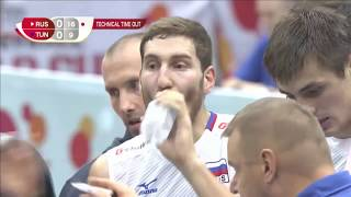 Волейбол. Россия Тунис Кубок мира. 10.09.2015 Russia Tunisia