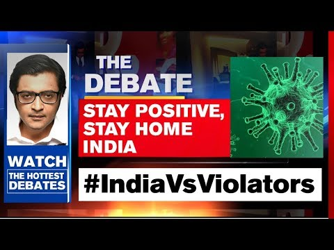 Markaz Doesn't Represent One Community | The Debate With Arnab Goswami