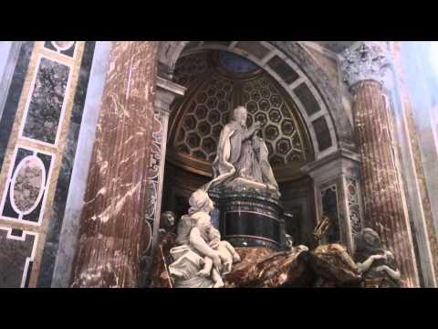 Tomb of Pope Alexander VII  St. Peter's Basilica Gian Lorenzo Bernini 1598-1680 Vatican City