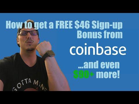 gdax sign up bonus