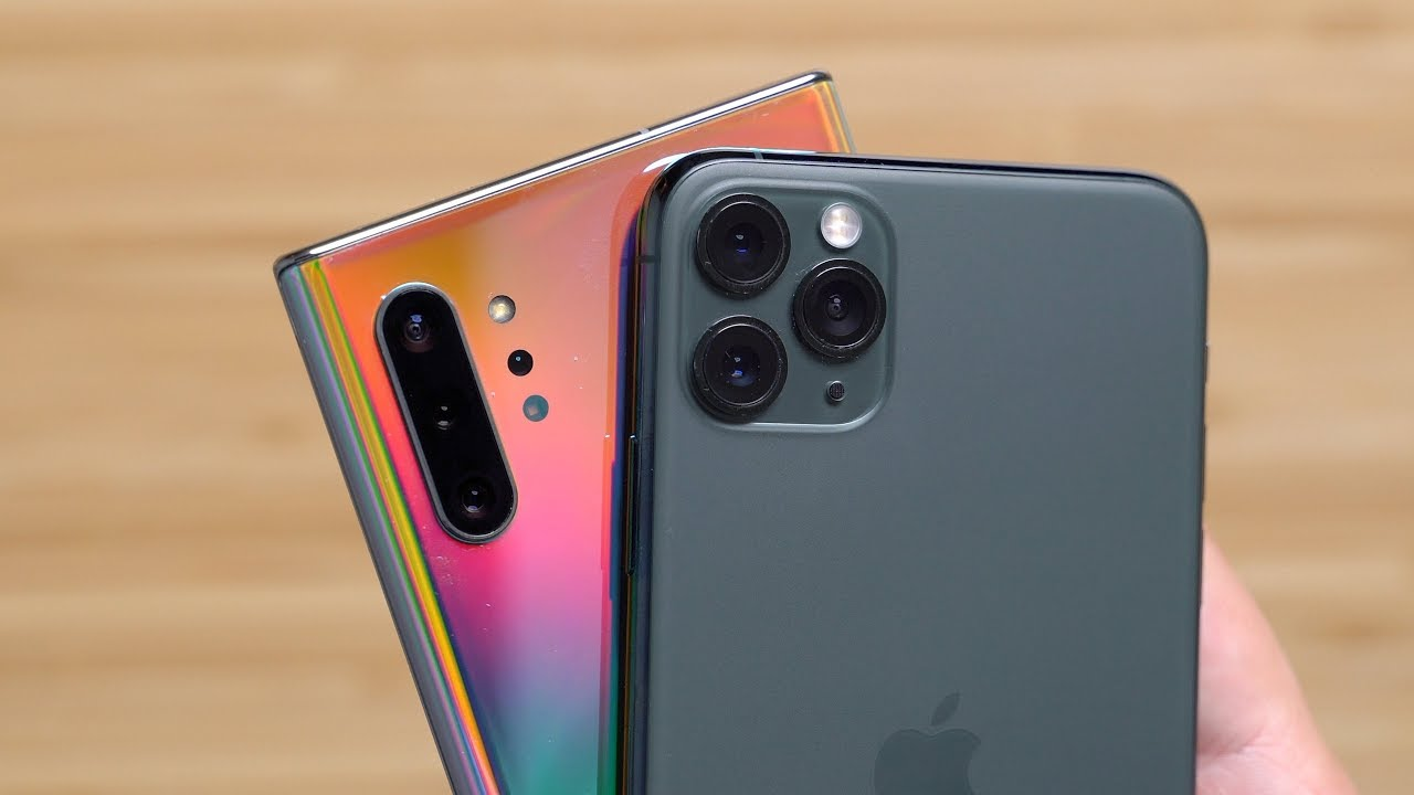 Camera Test iPhone 11 Pro Max vs. Samsung Galaxy Note 10+