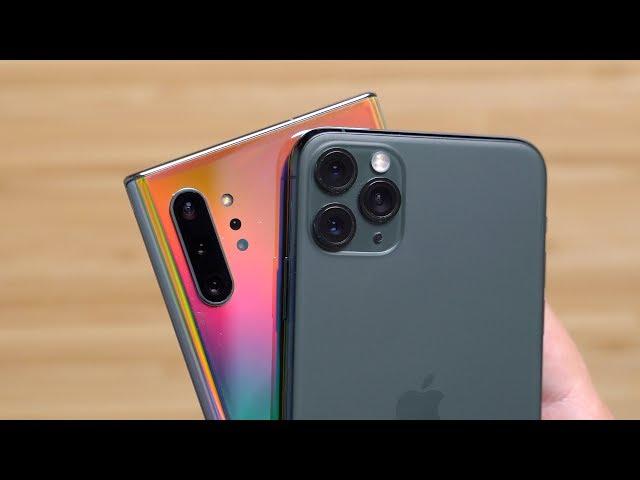 Camera Test: iPhone 11 Pro Max vs. Samsung Galaxy Note 10+