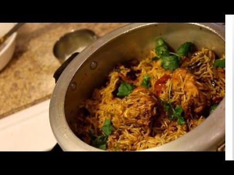 how to cook chicken biryani video