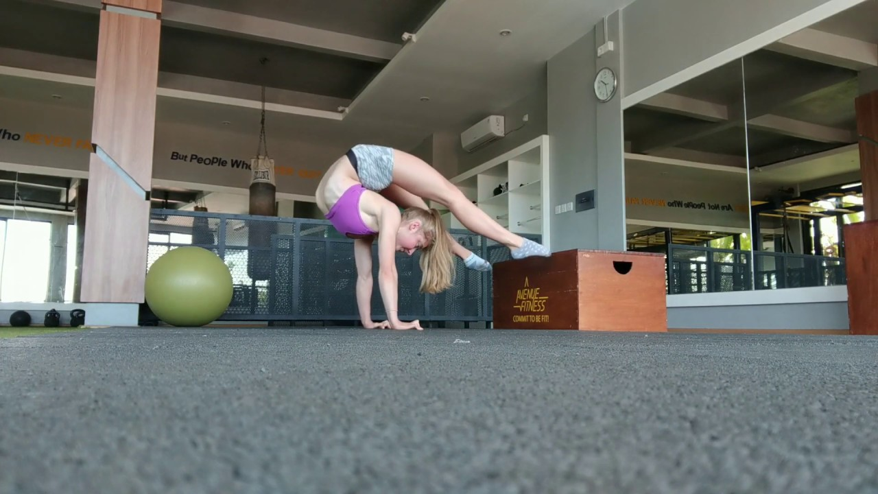 1arm handstands, back bends and contortion
