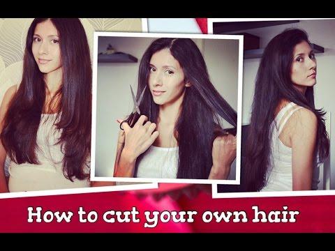 КАК ПОДСТРИЧЬ СЕБЯ ДОМА. стрижка лесенка. How to cut your own hair