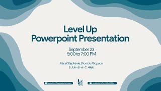 Level Up Powerpoint Presentation