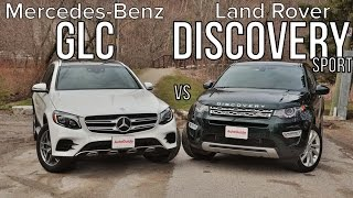 2016 Mercedes-Benz GLC 300 vs 2016 Land Rover Discovery Sport