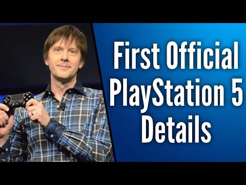 FIRST OFFICIAL PLAYSTATION 5 SPECS/DETAILS REVEALED BY SONY | 8K, Backwards Compatible, Disc drive