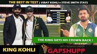Virat Kohli reclaims No.1 Test rank || Virat  Kohli pushes Smith at second spot in ICC Test Rankings