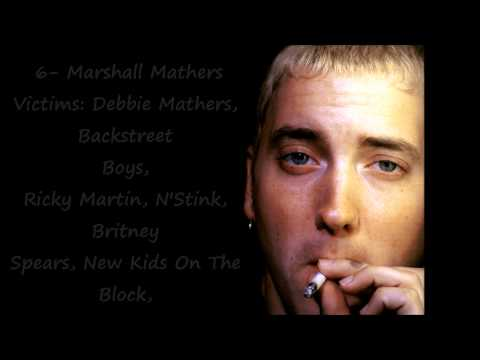 Eminem: Top 10 Diss Songs