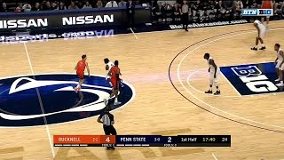 First Half Highlights: Bucknell at Penn State | B1G Basketball