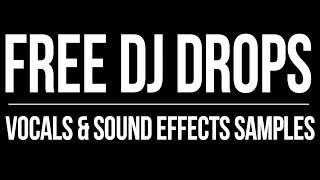 FREE DJ DROPS SAMPLES | DJ Drops 24/7 | Brandon Futch | Sound Effects | Voice Over