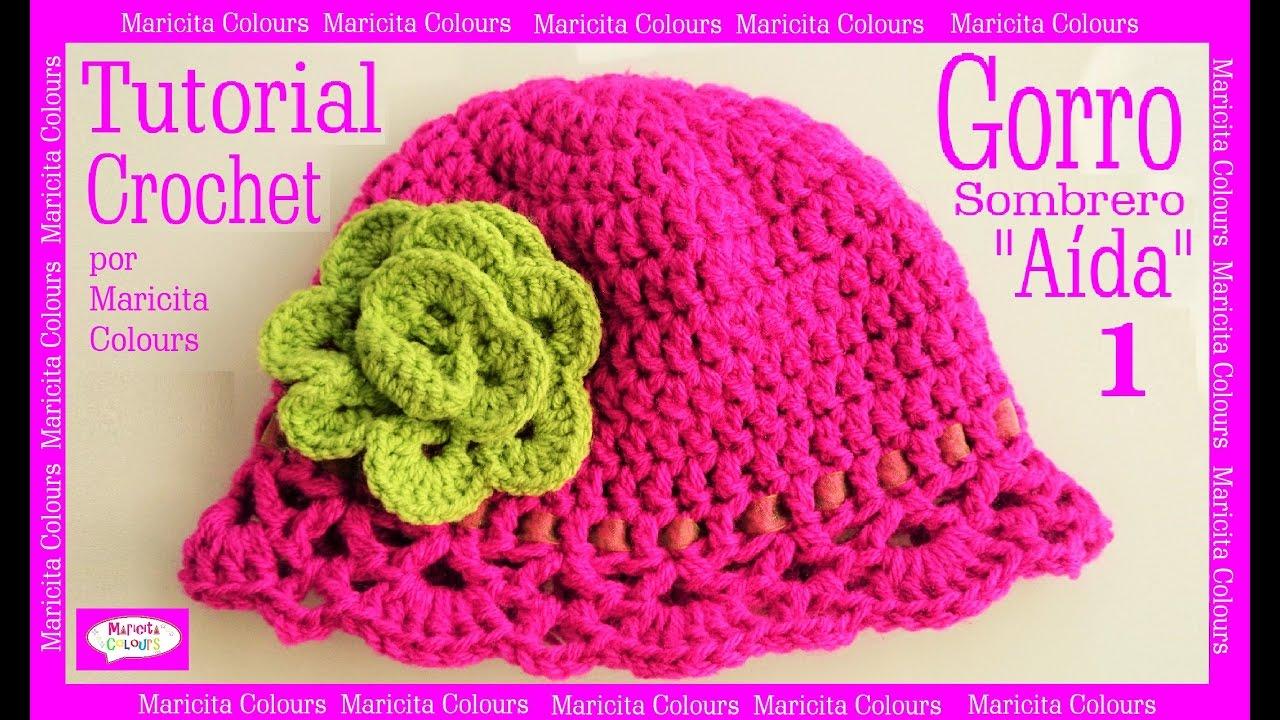 Gorro Sombrero a Crochet \