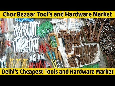 VikVlogs #13🔧 |Biggest Tools and Hardware Market | Delhi Chor Bazaar | Wholesale Market of Tools |⚒