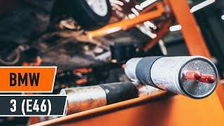 Kuinka vaihtaa polttoainesuodatin BMW 3 E46 -merkkiseen autoon OHJEVIDEO | AUTODOC