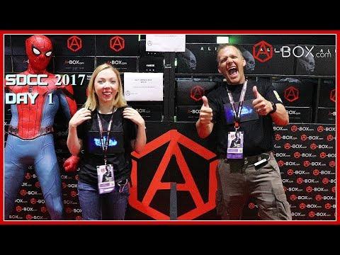 San Diego Comic Con 2017 Day 1 | Guru Reviews