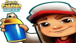 iGameBox🤩Subway Surfers SEOUL HD Fullscreen DINO Gameplay For Kid#6