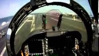 F-18 Cockpit View Take Off