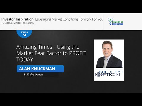 Using the Market Fear Factor to PROFIT TODAY | Alan Knuckman