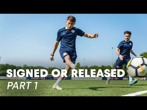 5 Football Players Chase The Big League | Signed or Released Part 1