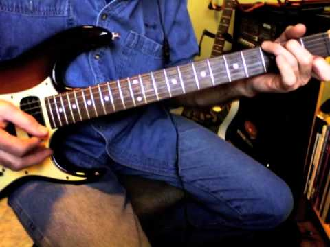 Guitar Lesson • God Bless The Child • Rhythm Guitar