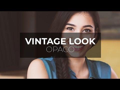Vintage LOOK opaco con Photoshop