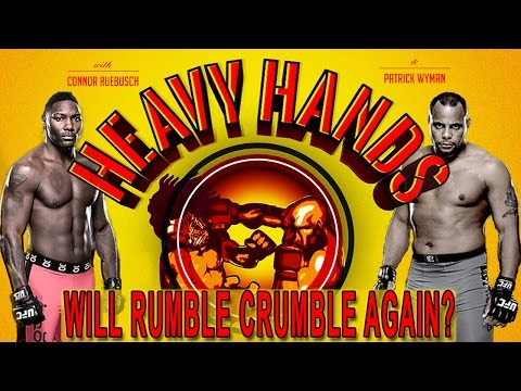 UFC 210: Can Cormier make Rumble crumble? (Heavy Hands #153)