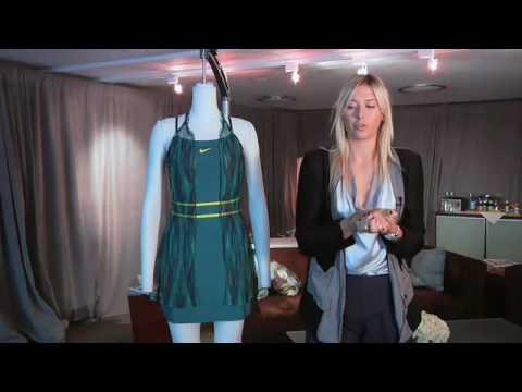 be0a90bdfa99 Maria Sharapova s Australian Open Dress. First in the new Nike Maria ...