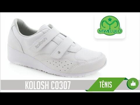 e78868d7bd6 Tênis Kolosh C0307 Mameluko Calçados Profissionais - YouTube