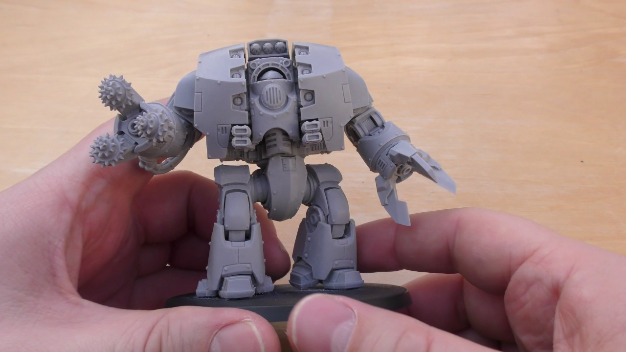 Leviathan Contemptor Dreadnought – Unboxing & Review (WH40K)